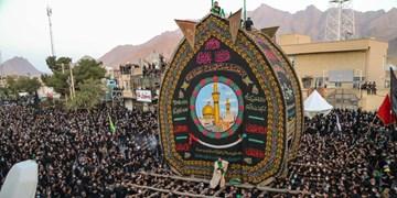 فیلم  نخلبرداری عاشورای 1400 در تفت