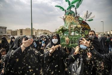 کاروان نمادین اسرای کربلا «بنی اسد»