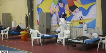 فیلم  بستری بیماران کرونایی در نقاهتگاهها