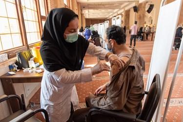 تبدیل مصلی وحدت گرگان به مرکز واکسیناسیون