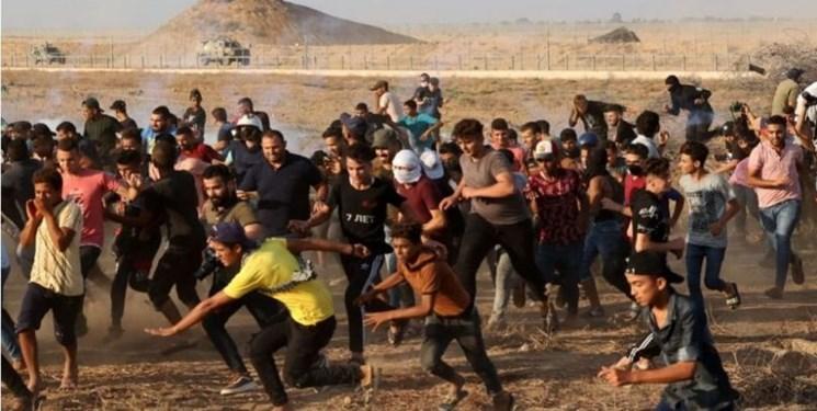 حمله خونبار نظامیان صهیونیست به راهپیمایی مسالمتآمیز در شرق غزه
