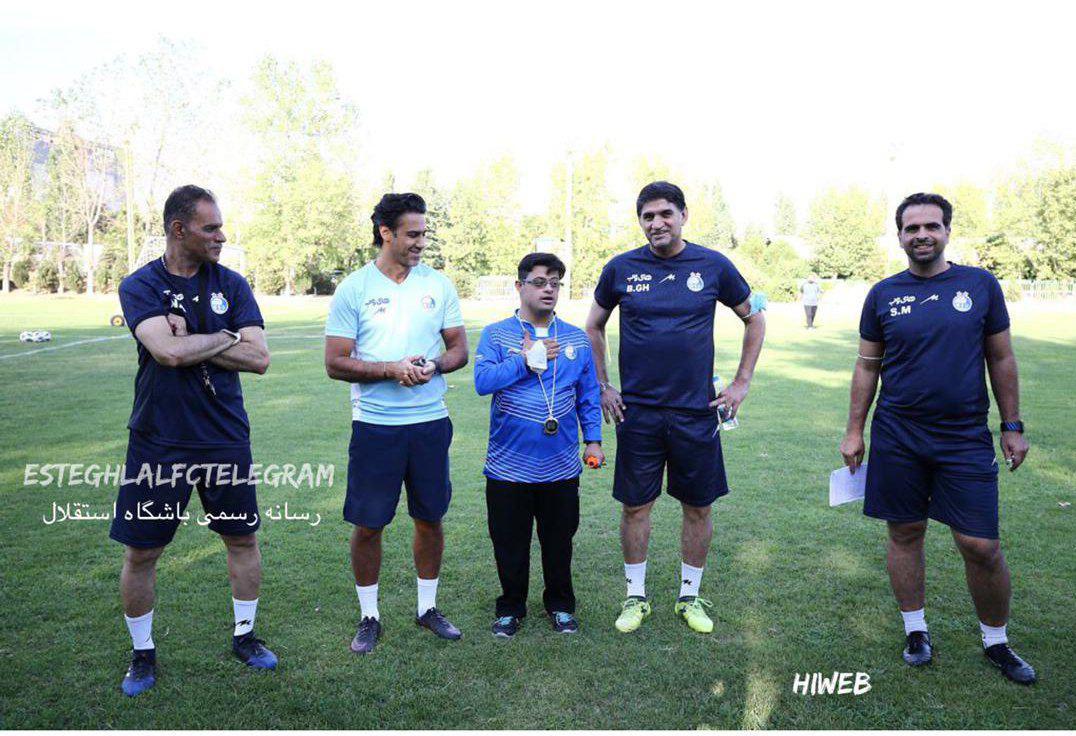 مجید تمرین تیم را به مرتضوی سپرد/ حضور دانشگر با استقبال مجیدی همراه شد