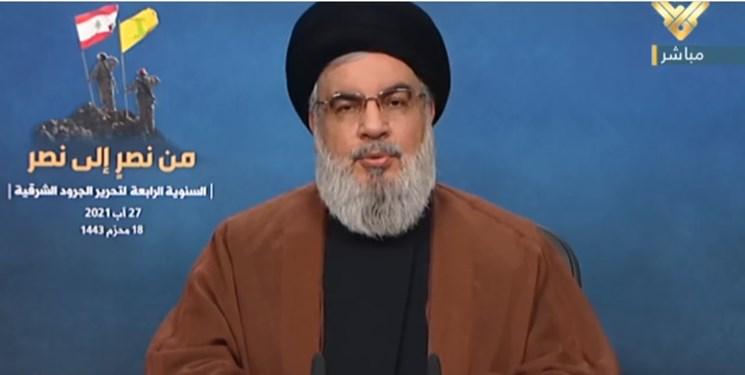 نصرالله: آمریکا مانع مبارزه حکومت لبنان با داعش شد/ آمریکا برخی سران داعش را به افغانستان منتقل کرده است
