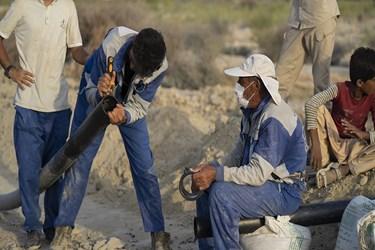اقدامات  جمعیت امام رضاییها برای آبرسانی به روستاهای محروم سیستان و بلوچستان