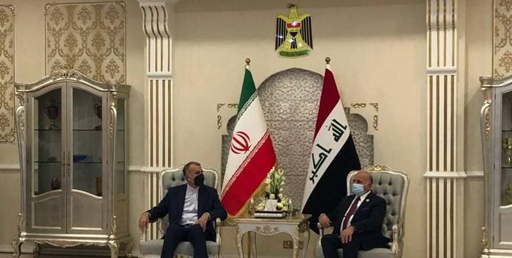 امیرعبداللهیان در گفتوگوی تلفنی با فؤاد حسین خواستار افزایش تعداد مجوز برای زوار اربعین شد