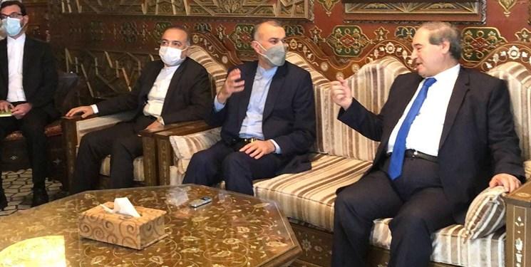 امیرعبداللهیان:ایران و سوریه در حال ترسیم نقشه توسعه فعال همکاری ها برای مقابله با تحریم