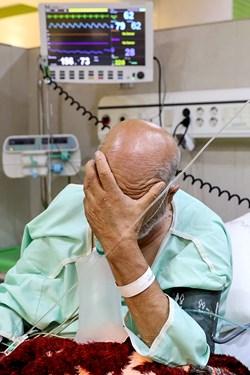 بیماران بد حال کرونایی جهت درمان در دو بخش CCU و ICU بیمارستان بقیه الله(عج) بستری میشوند