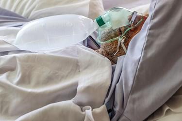 بخش CCU بیماران کرونایی بیمارستان بقیه الله(عج)