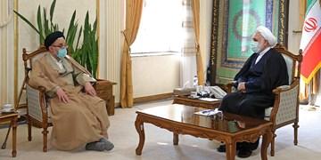 دیدار وزیر اطلاعات با رئیس قوه قضائیه/ محسنی اژهای: وزارت اطلاعات نقش مهمی در شناسایی و ریشه کنی بسترهای فسادزا دارد