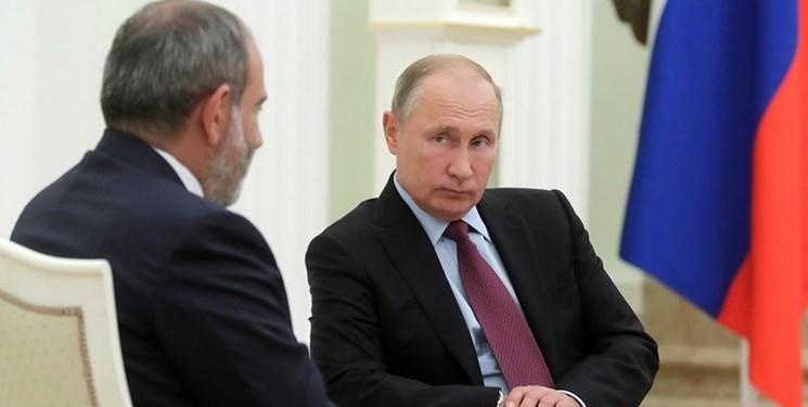ادعای رسانهای؛ پوتین جواب تلفن نخستوزیر ارمنستان را نمیدهد