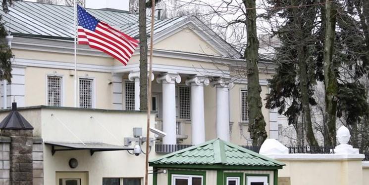 کاهش کارکنان دیپلماتیک آمریکا در بلاروس به درخواست مینسک