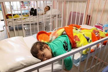 بخش کرونا بیمارستان کودکان مفید
