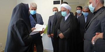 بازدید اژهای از مجتمع قضایی قدس تهران/ حضور رئیس عدلیه در جلسه رسیدگی به یکی از پروندهها