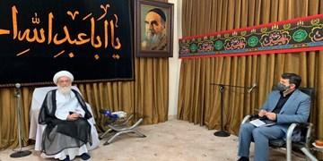 دیدار وزیر تعاون با آیت الله نوری همدانی