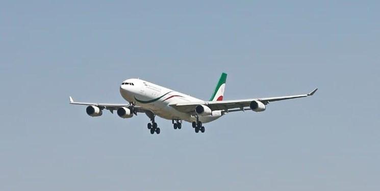 نخستین پرواز کیش در فرودگاه رامسر به زمین نشست