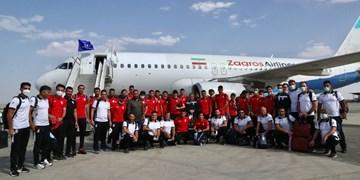 تیم ملی فوتبال به دوحه سفر کرد