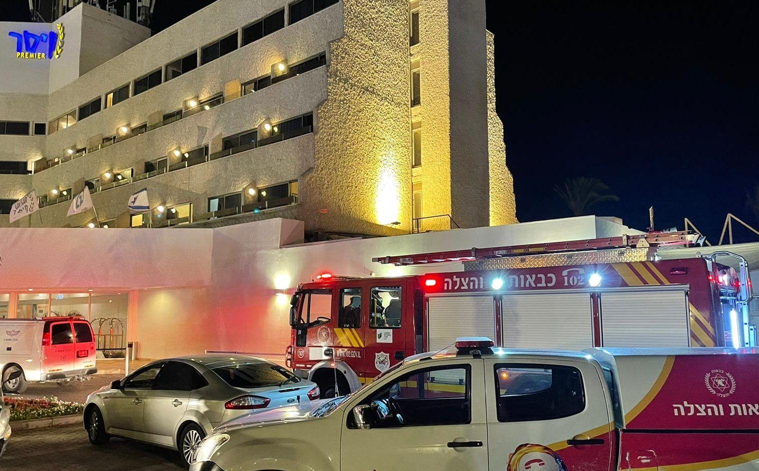وقوع انفجار داخل هتلی در فلسطین اشغالی