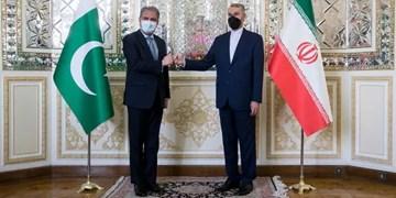 دیدار وزیر خارجه پاکستان با امیرعبداللهیان و شرکت در ضیافت ناهار همتای ایرانی