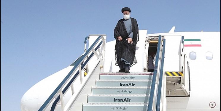 آیتالله رئیسی وارد دوشنبه پایتخت تاجیکستان شد