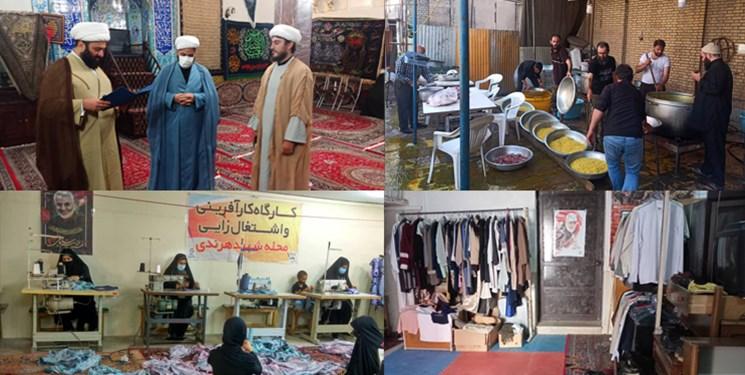 کمک ۲۰ میلیارد تومانی ۳۰ مسجد هرندی به هزار خانواده نیازمند +تصاویر