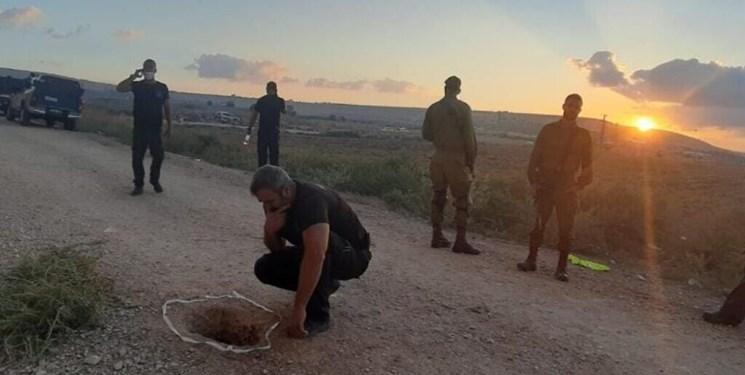 بازداشت دو اسیر فلسطینی دیگر از مجموع شش اسیر فراری از جلبوع+فیلم