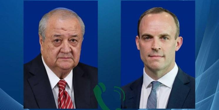 مسائل منطقهای و بینالمللی محور رایزنی وزرای خارجه ازبکستان و انگلستان