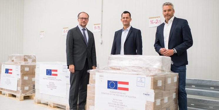 اتریش یک میلیون دُز واکسن «آسترازنکا» به ایران اهدا میکند
