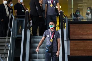 مراسم استقبال از کاروان پارالمپیک توکیو 2020