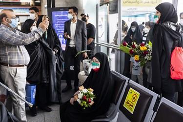 مادر شهید محمد بابایی سرپرست کاروان پارالمپیک توکیو 2020