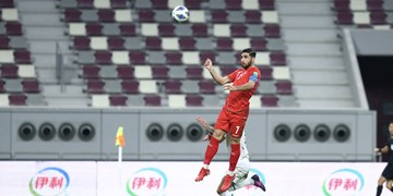 انتخابی جام جهانی| برتری یک نیمه ای ایران مقابل عراق با پرواز دیدنی جهانبخش