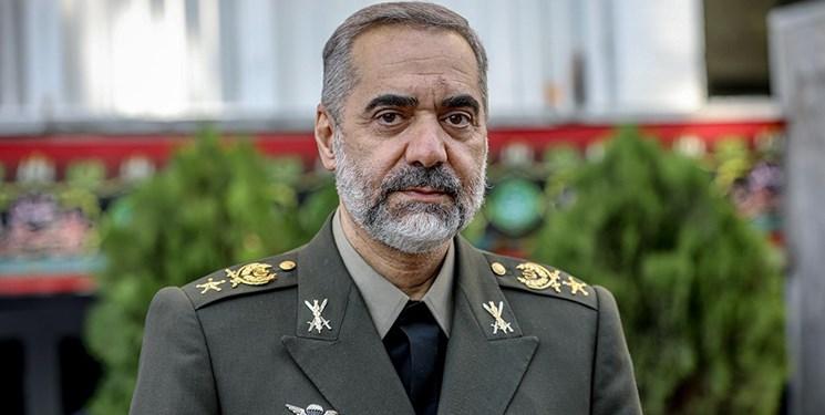 راهبرد قطعی وزارت دفاع تعامل همه جانبه و هم افزا با تمامی سازمان های نیروهای مسلح است