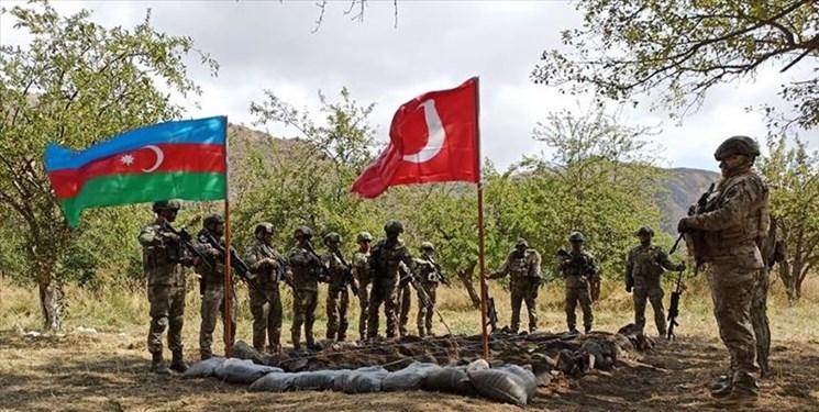 باکو: برگزاری رزمایش با ترکیه حق ماست