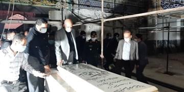 وزیر کشور وارد خوزستان شد