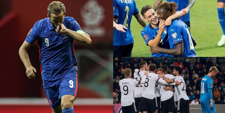 انتخابی جام جهانی در اروپا| آلمان با فلیک رنگی دیگر دارد / پیروزی ایتالیا و تساوی انگلیس در لحظه آخر