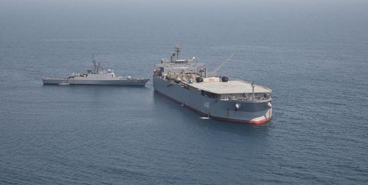 هفتادوپنحمین ناوگروه نیروی دریاییارتش به آبهای سرزمینی ایران رسید
