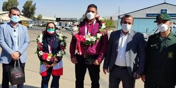 بازگشت مدال آوران فارسی از مسابقات پارالمپیک ۲۰۲۰ توکیو به شیراز