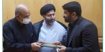 دریافت حکم شهرداری ساری جواد طالبی از سوی وزیر کشور