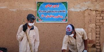 فیلم  حضور گروه جهادی شهید صدوقی اراک در ورچه خمین