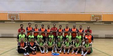 اولین تمرین تیم ملی فوتسال در لیتوانی برگزار شد+ عکس