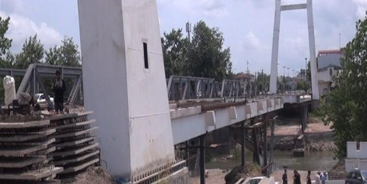 پایان سال آخرین قول مسؤولان برای تکمیل تنها پل کابلی گیلان