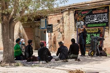 برگزاری مراسم روضه در مناطق محروم حاشیه پایتخت
