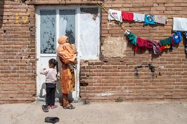 مردم مناطق محروم حاشیه پایتخت