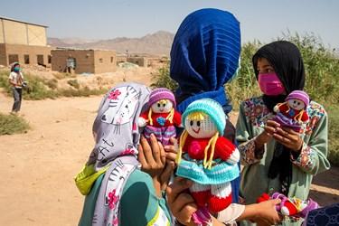دختران مناطق محروم حاشیه پایتخت