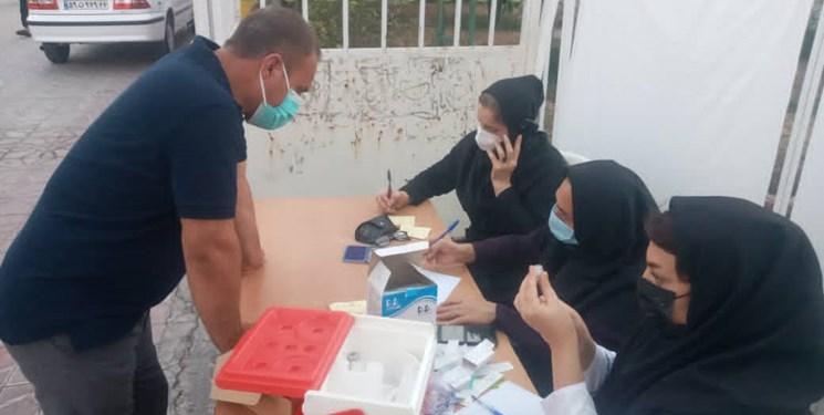 راه اندازی مرکز تجمیعی واکسیناسیون در «شهرک شهید محلاتی»