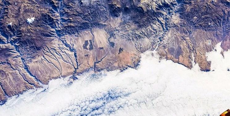 تصاویر خیرهکننده  از دریاچههای زمین/ دریاچه ارومیه از نگاه فضانورد چینی