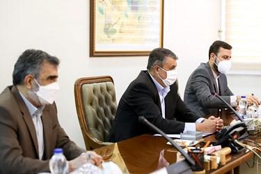 محمد اسلامی رئیس سازمان انرژی اتمی در دیدار با رافائل گروسی مدیرکل آژانس بینالمللی انرژی اتمی