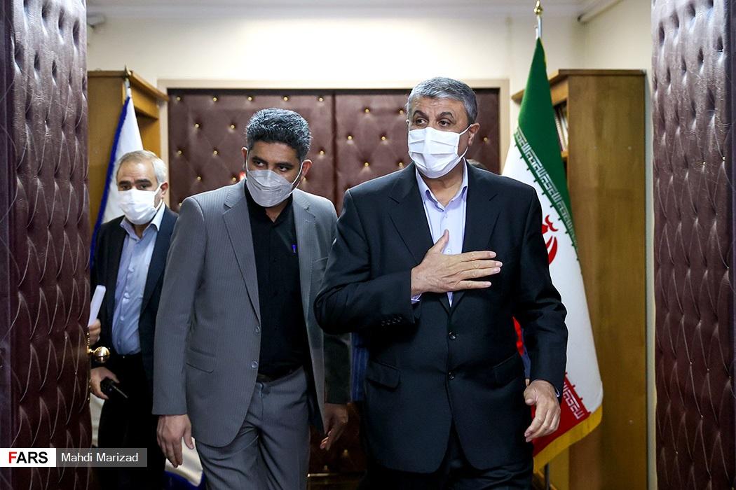 محمد اسلامی رئیس سازمان انرژی اتمی