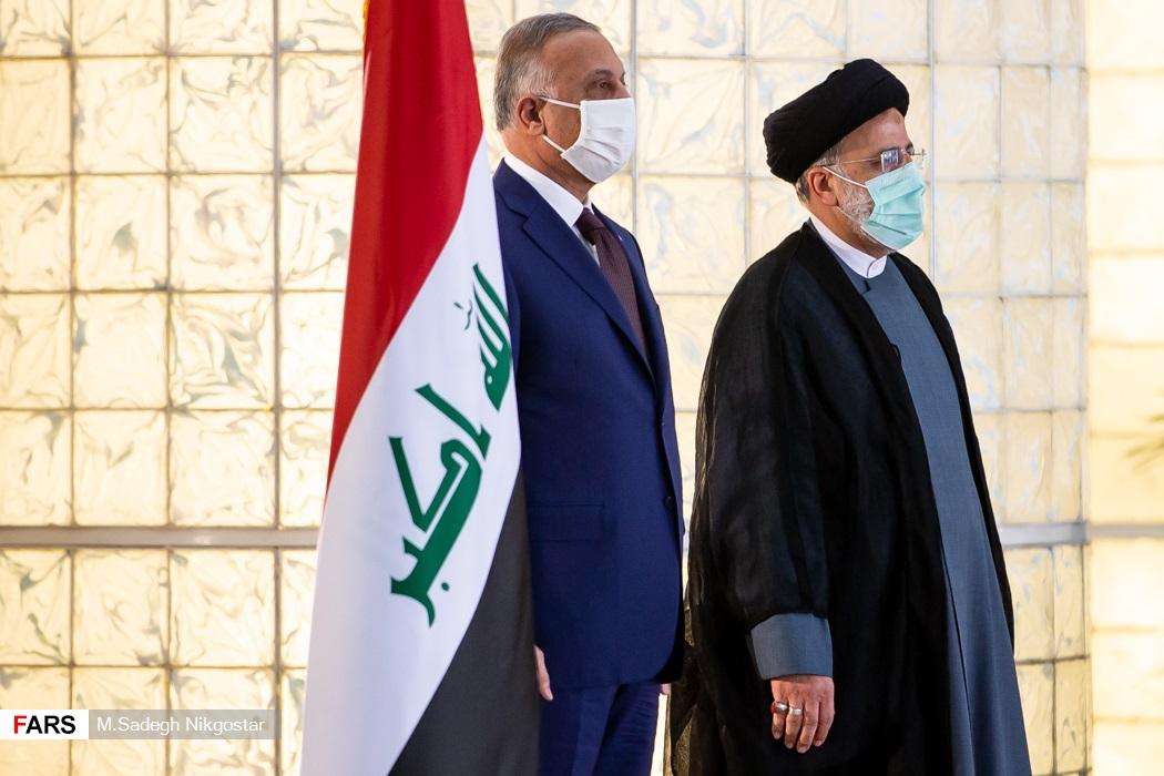 استقبال رسمی رئیس جمهور از نخست وزیر عراق