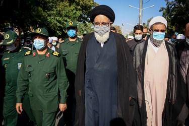 تشییع پیکر شهید مدافع حرم محمد اینانلو