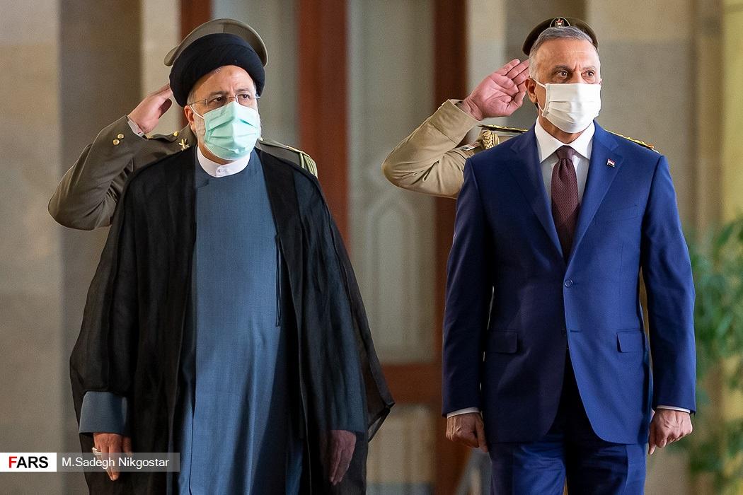استقبال رسمی رئیس جمهور از||| نخست وزیر عراق